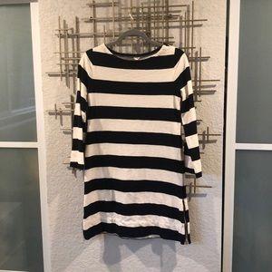 J. Crew Striped shirt dress